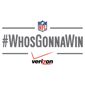 Who's Gonna Win the Super Bowl? Verizon...