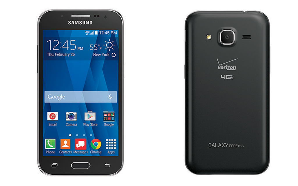 Samsung Galaxy Core Prime™ Available Feb. 26 on the Verizon Wireless Network
