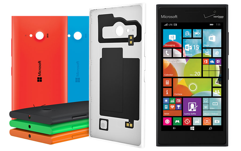 Selfies, Windows Phone 8.1, HD Voice Calling - Microsoft Lumia 735 Now Available