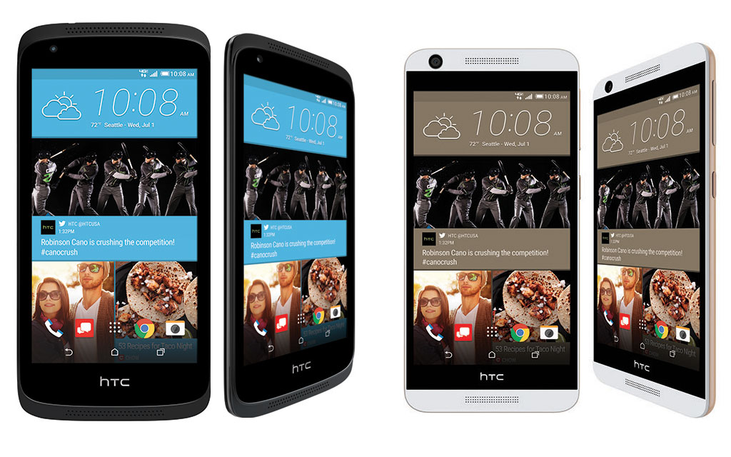 HTC Desire 526 and HTC Desire 626 Soon To Be Available on the Verizon Wireless Network