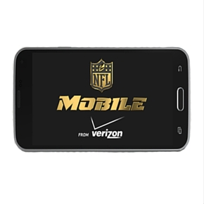 A Verizon NFL Exclusive: Live streaming...