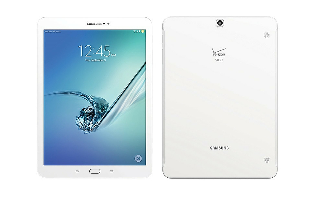 Samsung Galaxy Tab S2 with Verizon 4G LTE Now Available