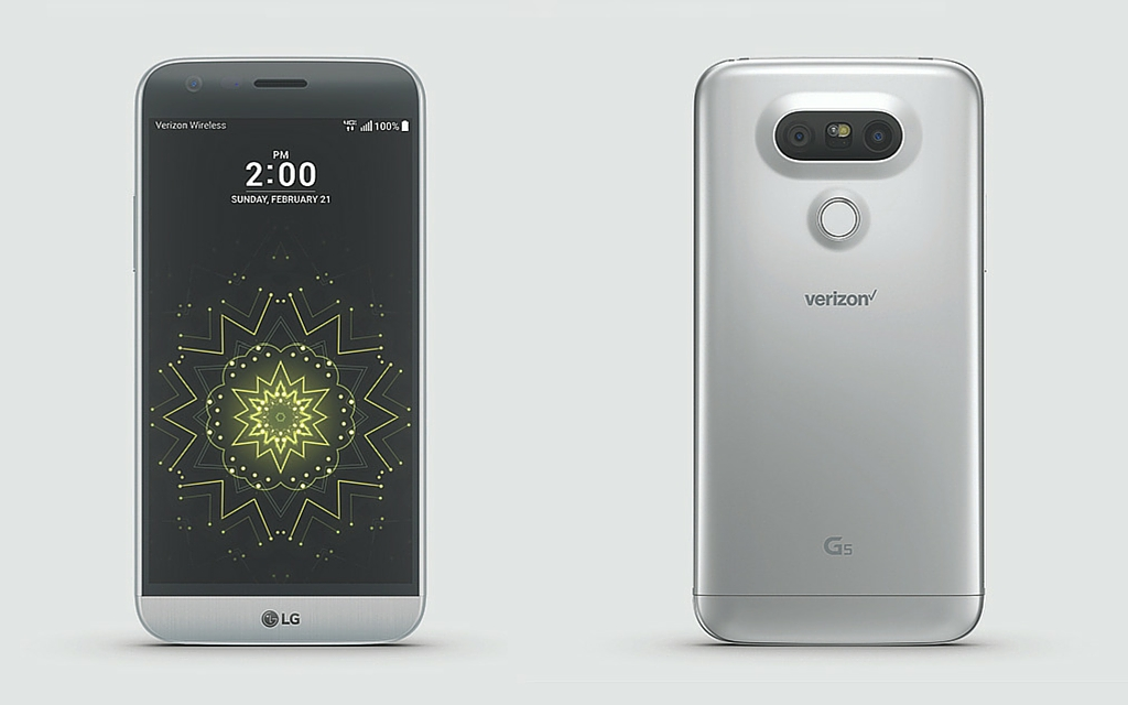 Preorder the LG G5 from Verizon today