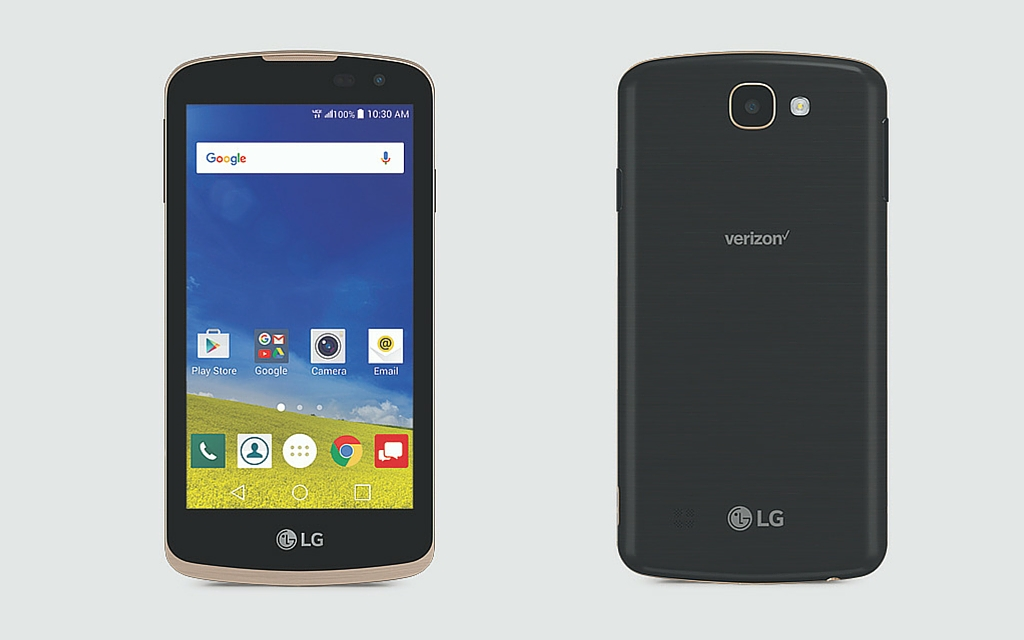 Verizon launches LG K4 LTE feature-packed, user-friendly smartphone