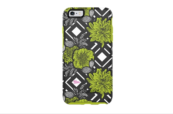 Winning phone case design from Project Runway All Stars OtterBox Challenge exclusively available at Verizon