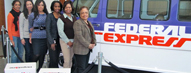 Women's Network at FedEx Supports V...