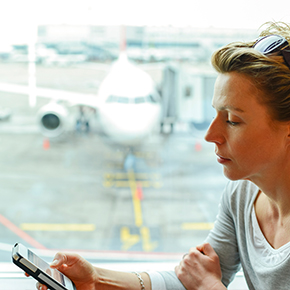 Five Tips for Polite In-flight Mobile D...