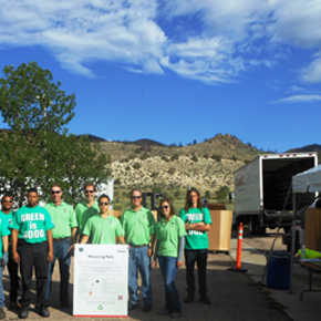 Recycling Event in Colorado Springs Cou...