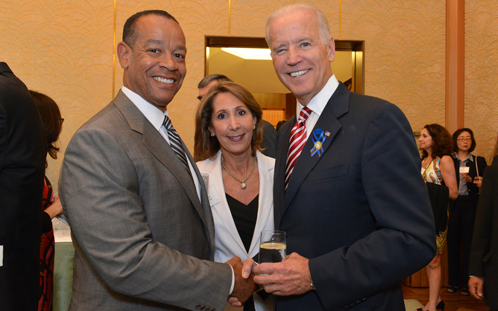 Vice President Joe Biden Recognizes Domestic Violence Prevention Leadership