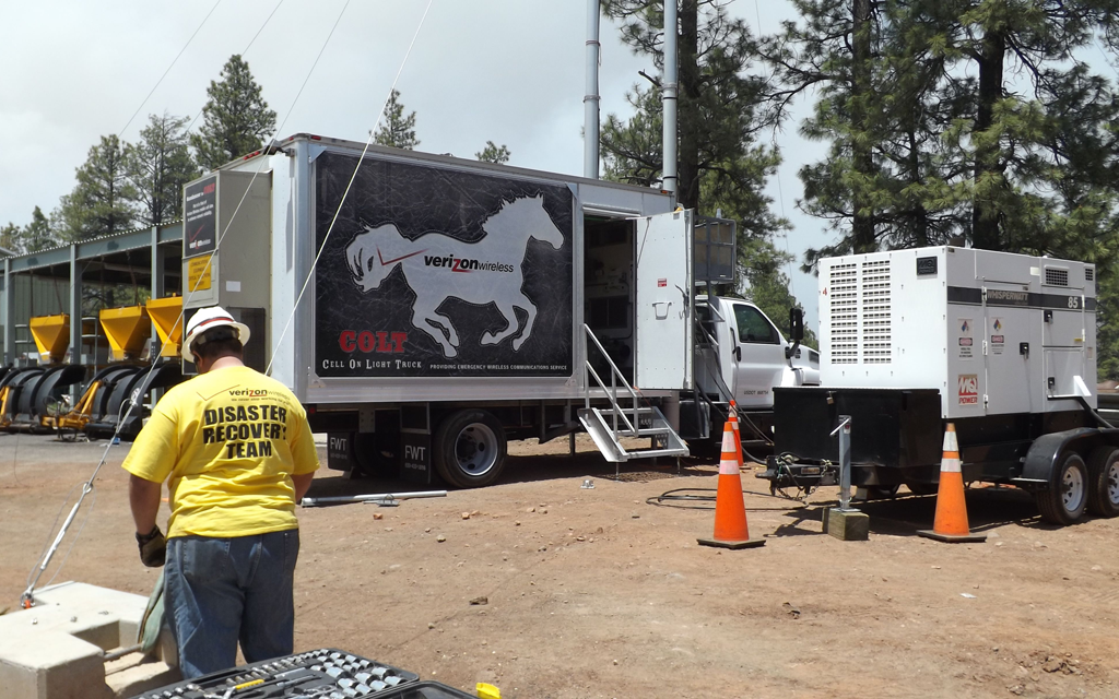 Keeping Customers Connected: Verizon Wireless Responds to Arizona Slide Fire