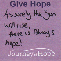 Journey of Hope Gainesville