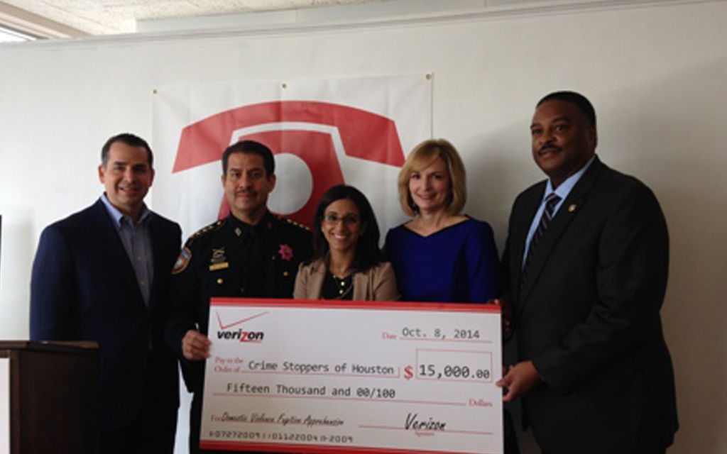 Verizon Houston and Crime Stoppers Launch 'Catch A Culprit' Campaign