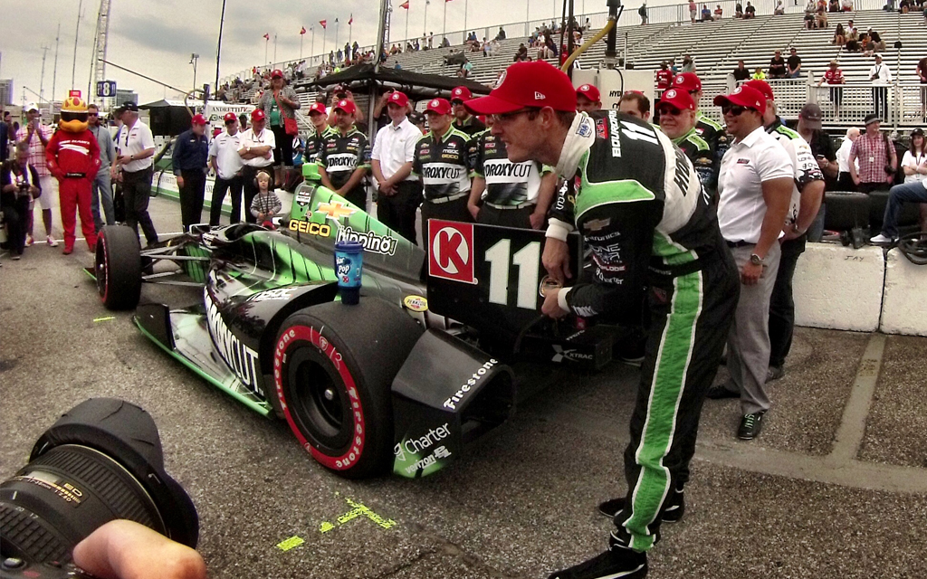 GoPro on the Go: The Roaring Thrill of IndyCar