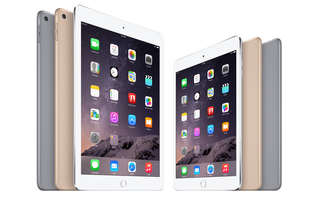 Verizon Wireless to Offer iPad Air 2 and iPad mini 3