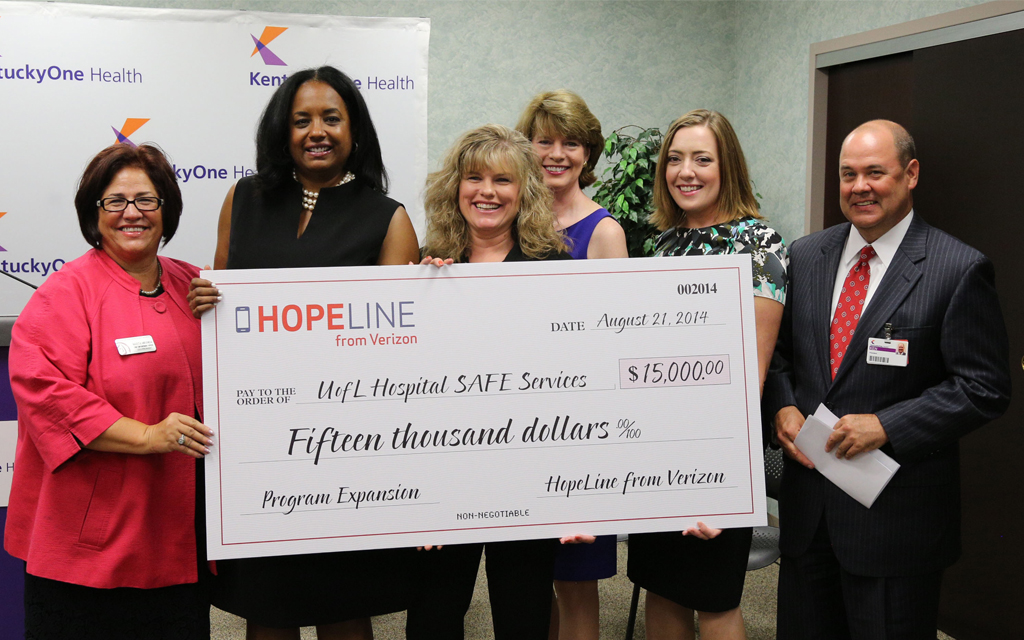HopeLine Grant Helps Add Important Tool for Domestic Abuse Survivors