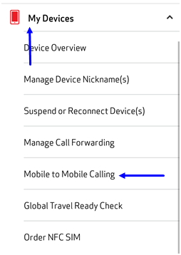 Image: MVM Mobile to Mobile Calling Screenshot