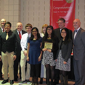Upper St. Clair High School Students Win Best in Nation