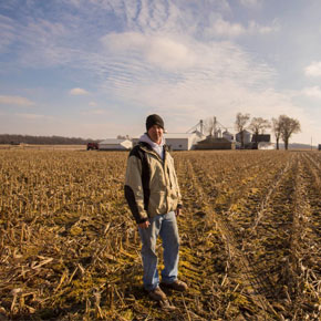 Hoosier Farmer Andrew Fansler: First Generation Farmer Aided by Tech