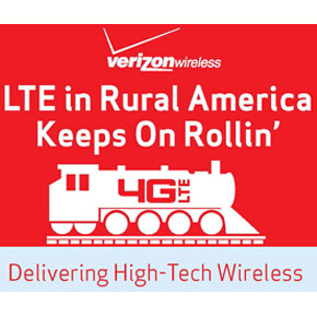 Verizon's LTE in Rural America (LRA) Program Celebrates Five Years of Delivering Advanced Wireless Services to Rural Customers