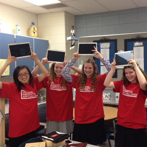 "All-Girls Team in Maryland Wins ""Best in Nation"" in Verizon's Innovative App Challenge for VolunteerMe"