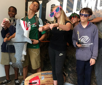 Teens from Boys & Girls Club Experience the Santa Monica Destination Store
