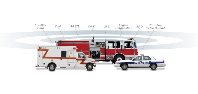 Public Safety and 4G LTE Connectivity