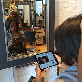 A Visit to the Salon Gets a Mobile Makeover