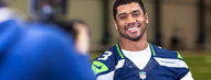 Seattle Seahawks QB and Verizon Tackle ...