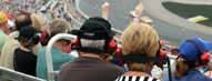 Savvy Race Fans Powered by 4G LTE at Da...