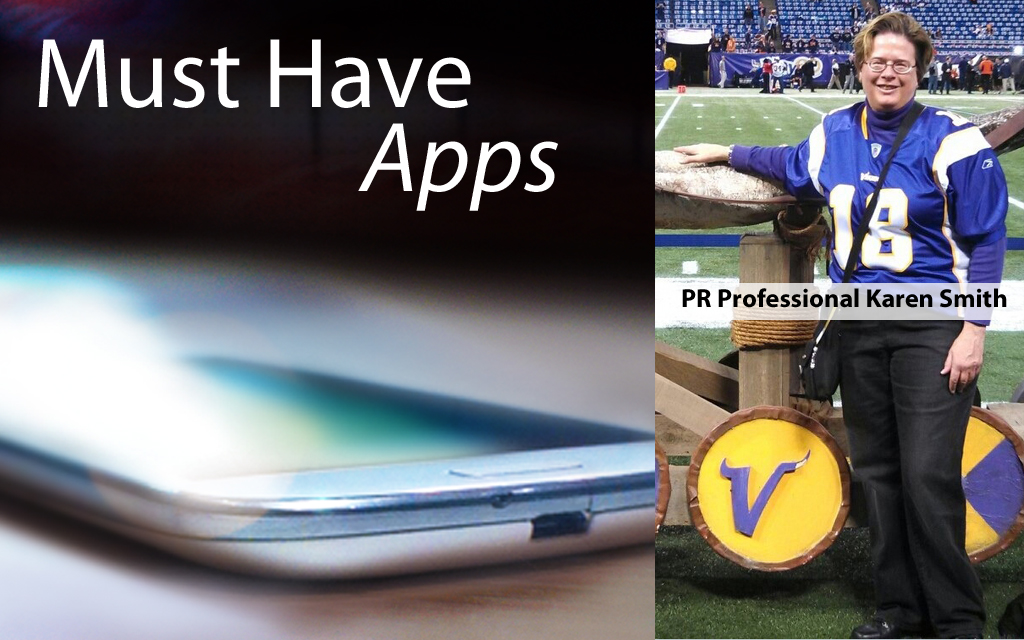 Karen Smith's Must-have Apps