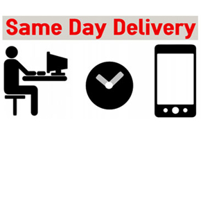 When You Need It Now! Same-Day Delivery...
