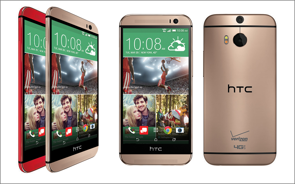 HTC One (M8) in Two New Colors Starting June 5 – Just in Time for Father's Day