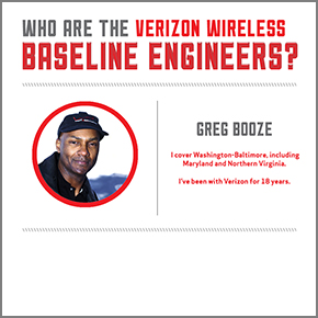 Meet Greg Booze: Verizon Wireless Road ...
