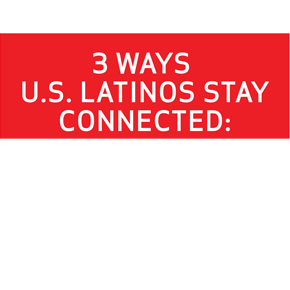 Latinos Stay Connected in More Ways Tha...