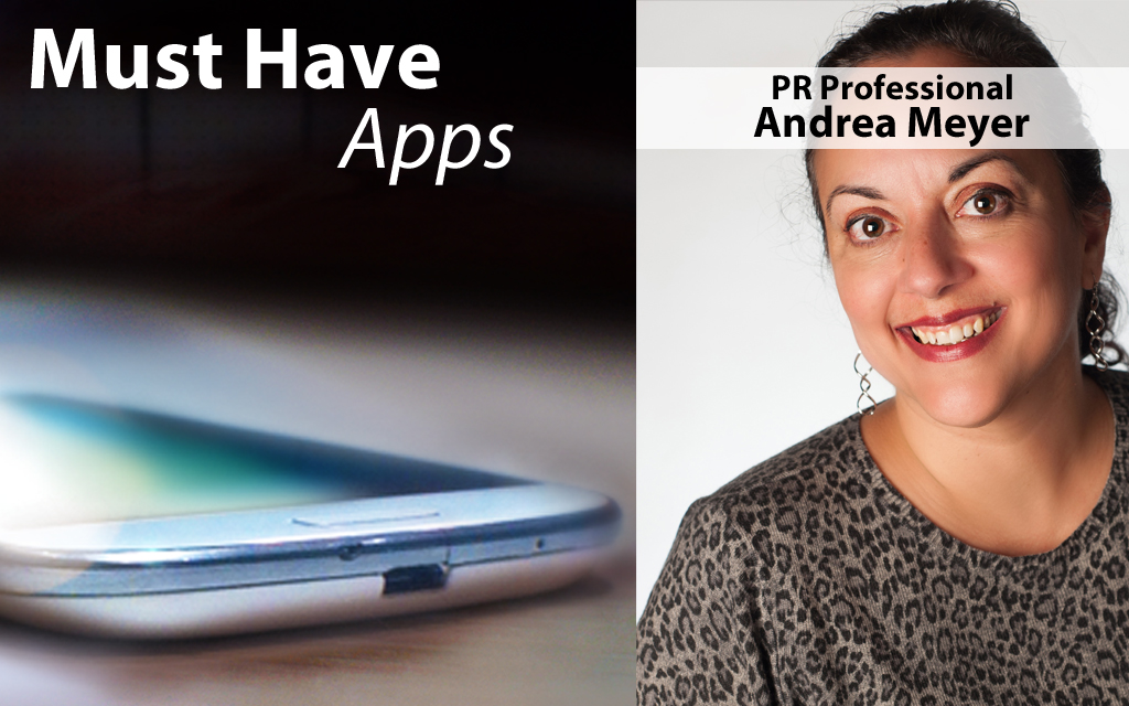 Andrea Meyer's Must-have Apps