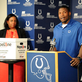 Verizon Wireless and Indianapolis Colts Team-up for Community HopeLine Drive