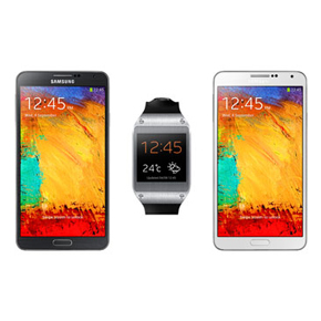 Samsung Galaxy Note 3 and Galaxy Gear A...