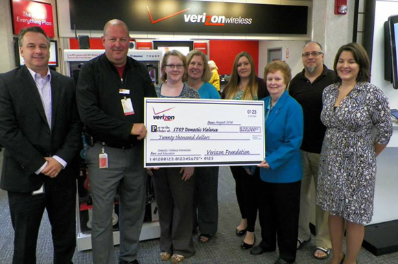 Verizon Foundation grant awarded to STOP Domestic Violence in Plattsburgh NY