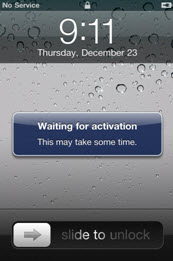 iPhone Activating