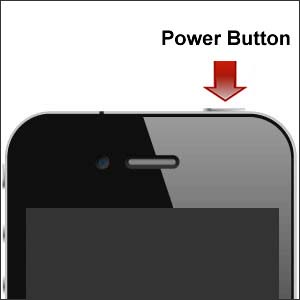 Power on iPhone