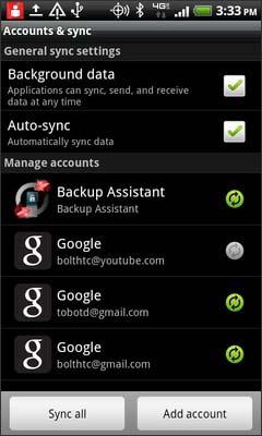 Select Backup Assistant