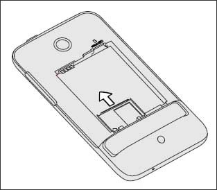Slide out the SIM card holder