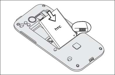 Insert / Remove the battery