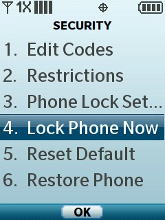 Select Lock Phone Now
