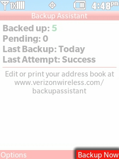 Select Backup Now