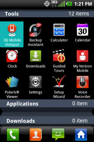 Applications with 3G Mobile Hotspot