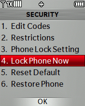 Lock Phone Now