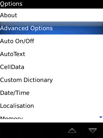 blackberry options with advanced options selected=