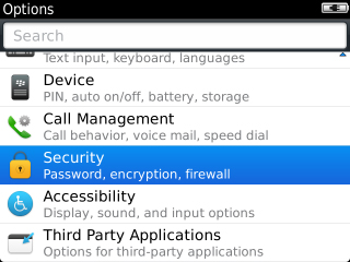 Options with Security