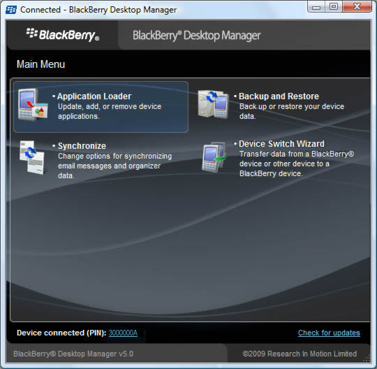 Launch Desktop Manager